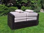 Poduszki z leżanki Hera