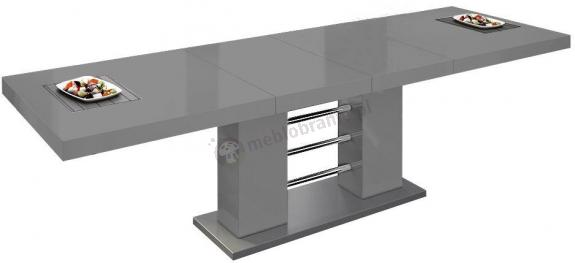 Stół Linosa 2 - Szary połysk