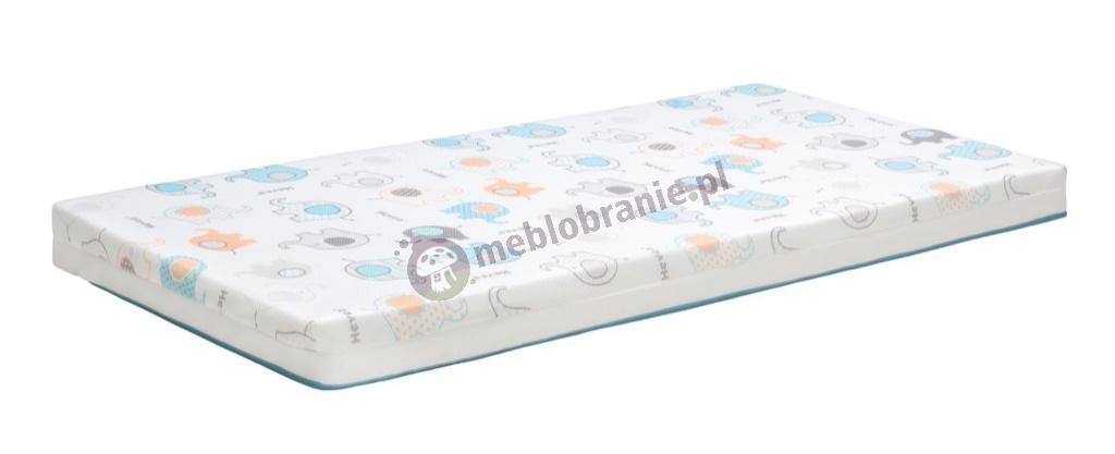 Materac piankowy z lateksem Hevea Happy Baby Max 120x60 cm