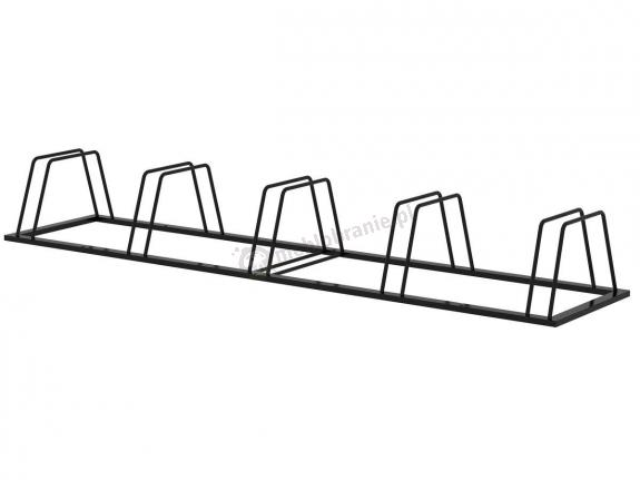 Stojak trapezowy na rowery 5 stanowisk