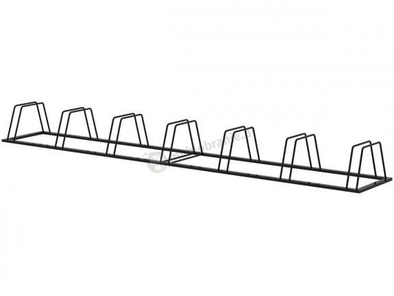Stojak trapezowy na rowery 7 stanowisk