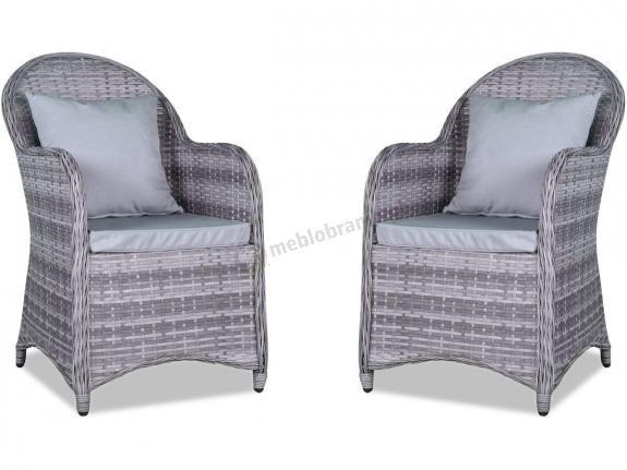 Altito Doppio fotele z technorattanu Dim Grey & Taupe