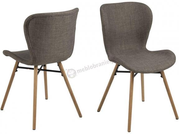 Actona Batilda wygodne krzesło kuchenne khaki