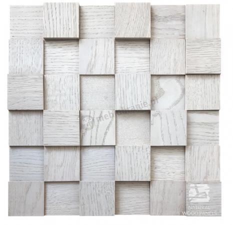 Dąb Skandynawski kostka 3d *071 - Natural Wood Panels