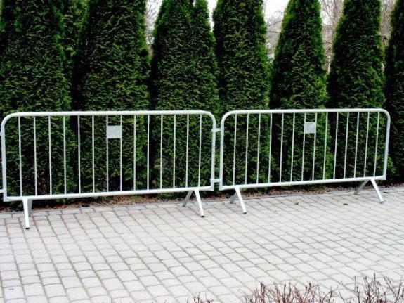 Lekka barierka ochronna na imprezy masowe