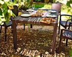 Zestaw ogrodowy Melody 6B brąz - ogród