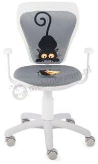 Fotel Ministyle Cartoons Line GTP TS22 Kot i Mysz krzesło dla dzieci