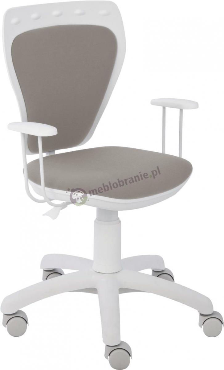 Fotel Ministyle Line White GTP TS22 M47 krzesło obrotowe dla dzieci