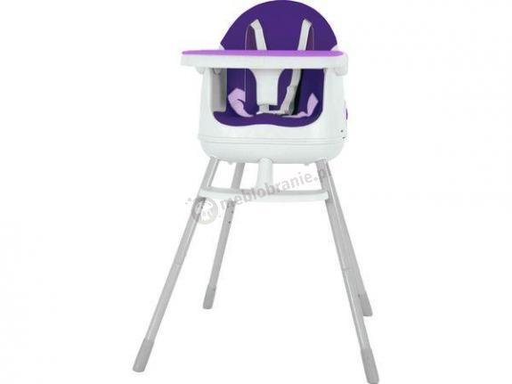 Keter Multidine With Separator krzesełko do karmienia 3w1 fioletowy