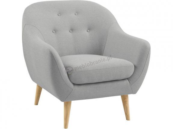 Actona Elly wygodny fotel pikowany do salonu