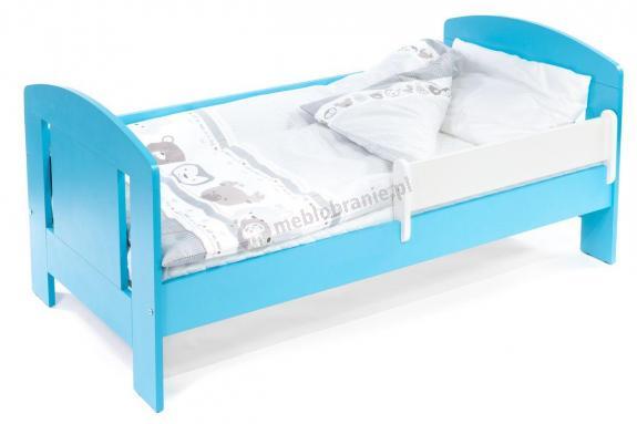 Łóżko dla 4 latka z barierką 140x70 Faro