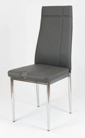 Krzesło tapicerowane szare KS023