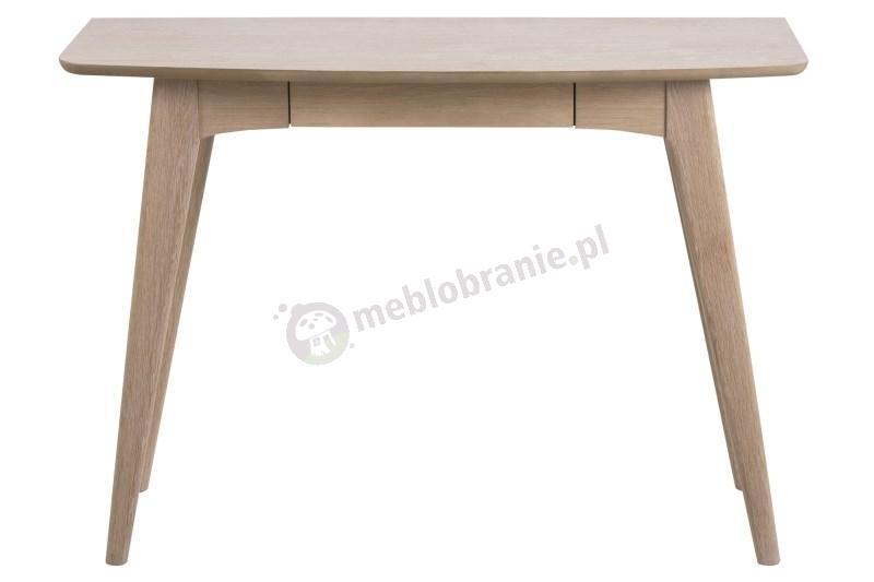 Actona Woodstock drewniane biurko z szufladą