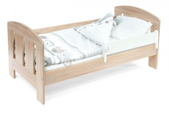 Łóżko dla dziecka 3 latka z barierką 140x70 Flores