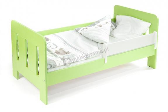 Łóżko dla dziecka 2 letniego z barierką 140x70 Maio