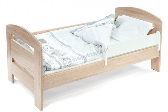 Łóżeczko dla dwulatka z barierką 140x70 Vista