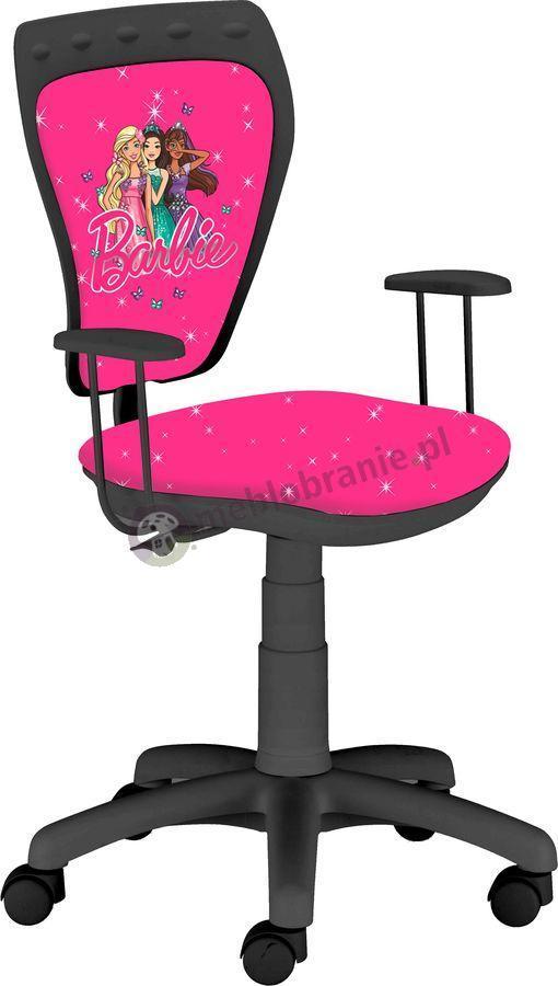 Fotel dziecięcy z Barbie Ministyle Black TS22 GTP Barbie Stars