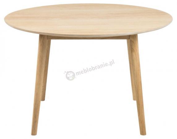 Actona Nagano I stół okrągły drewniany 120 cm