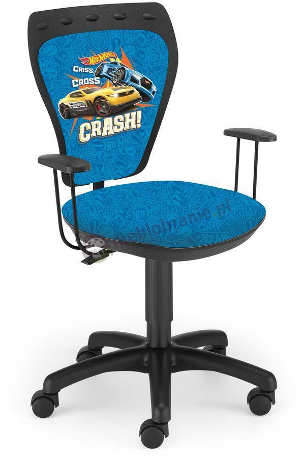 Fotel obrotowy Hot Wheels Crash Ministyle Black TS22 GTP