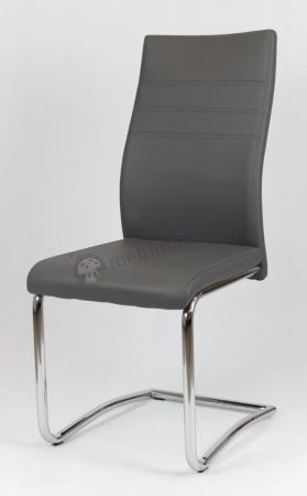 Krzesło tapicerowane szare KS021