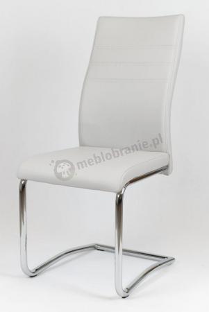 Krzesło z ekoskóry do salonu KS021
