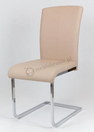 Krzesło beżowe konferencyjne KS014
