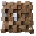 Dyfuzor Panel Akustyczny Dąb 32x32cm - Natural Wood Panels