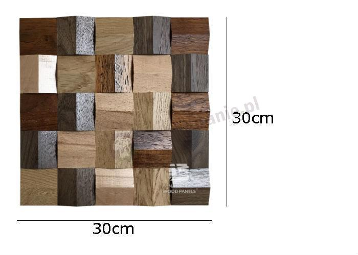 Natural Wood Panels Crystal series MIX 085 - wymiary