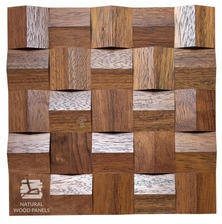 Crystal series - Merbau *084 - Natural Wood Panels