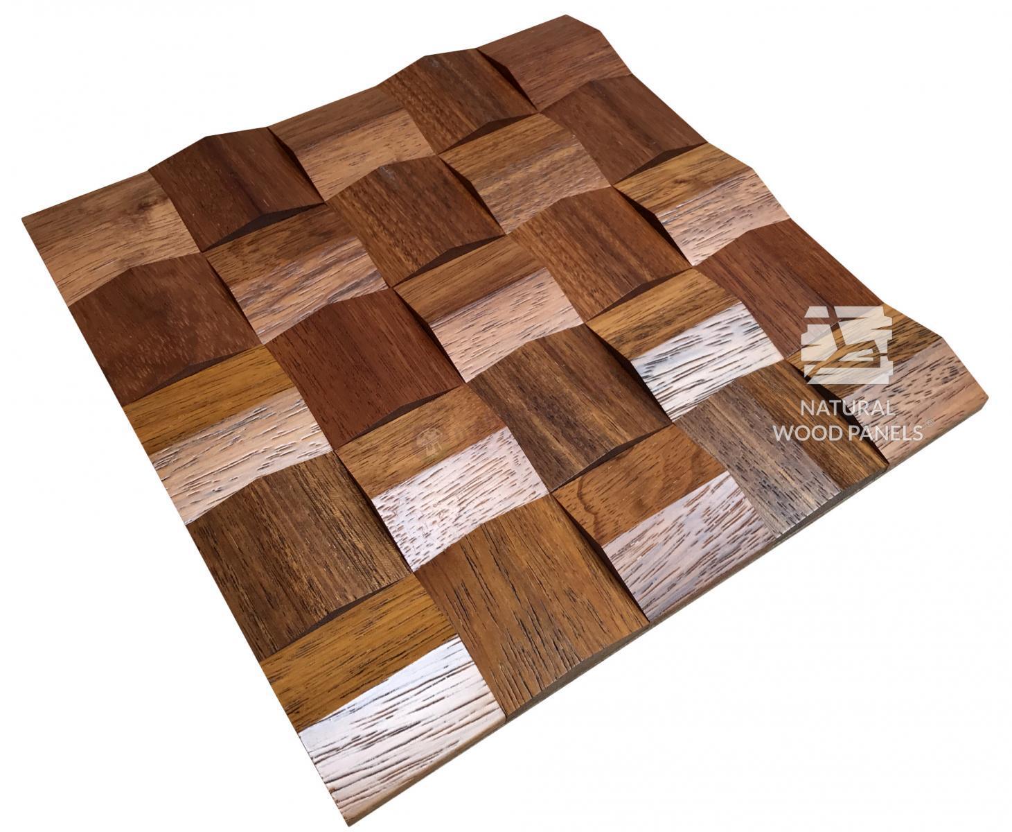 Panele Crystal  series – Merbay *084 - Natural Wood Panels