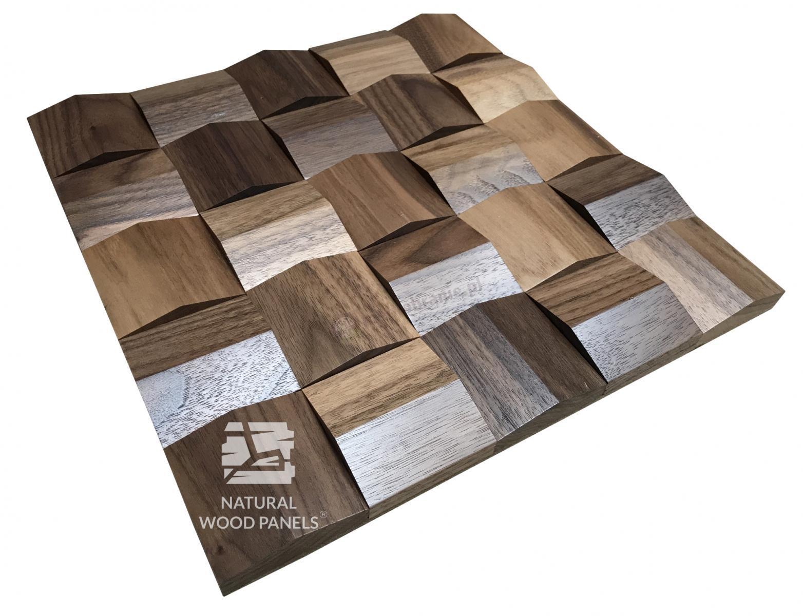Panele Crystal  series – Orzech Amerykański *083 - Natural Wood Panels