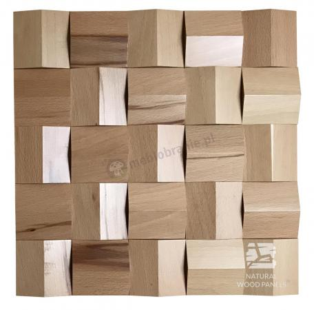 Crystal series - Buk *082 - Natural Wood Panels