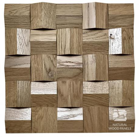 Crystal series - Dąb rustika *081 - Natural Wood Panels
