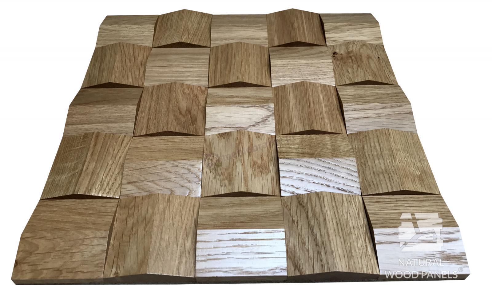 Panele drewniane 3D