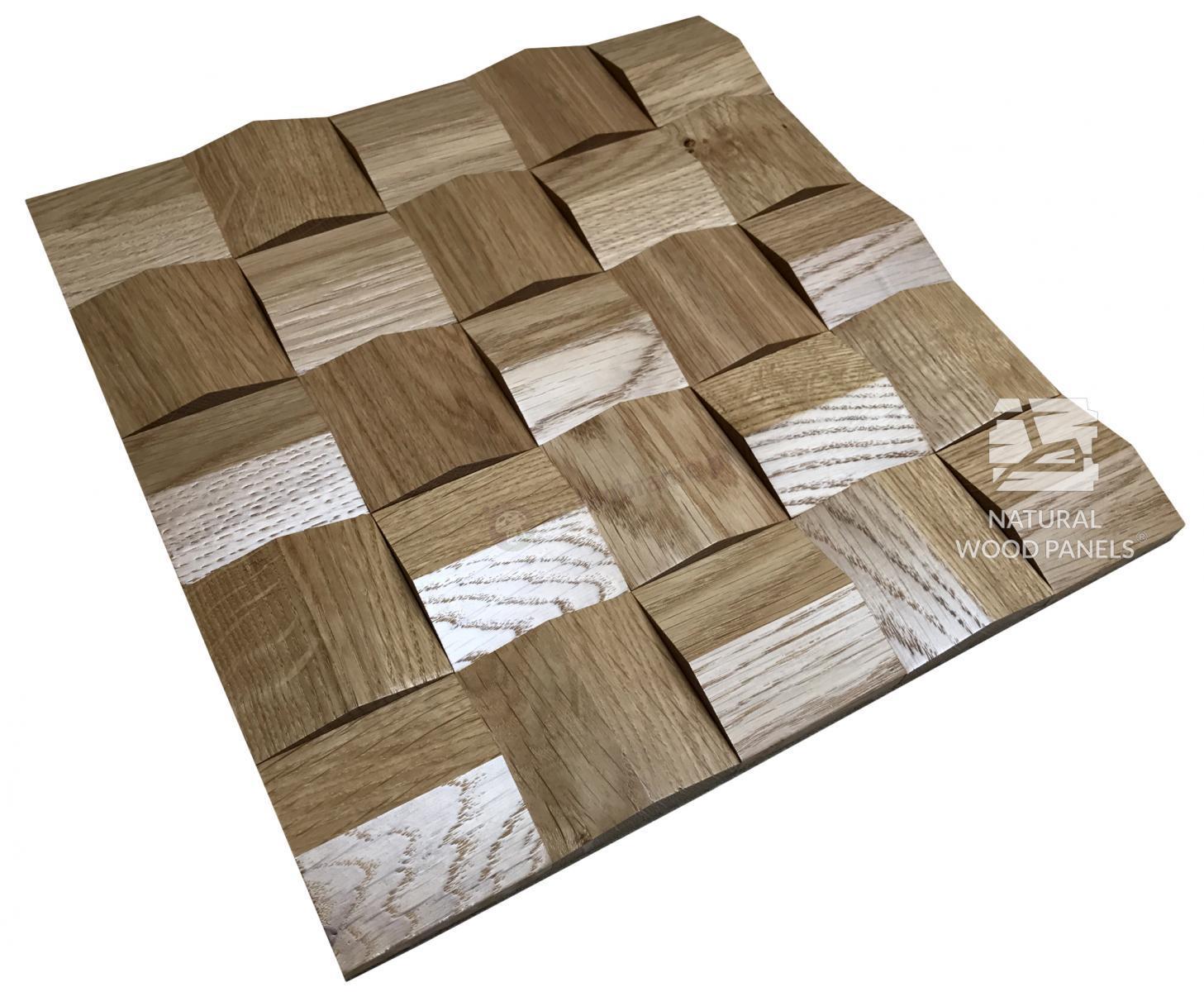 Panele Crystal  series – dąb rustika *081 - Natural Wood Panels