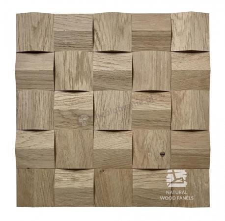 Crystal series - Dąb surowy *080 - Natural Wood Panels