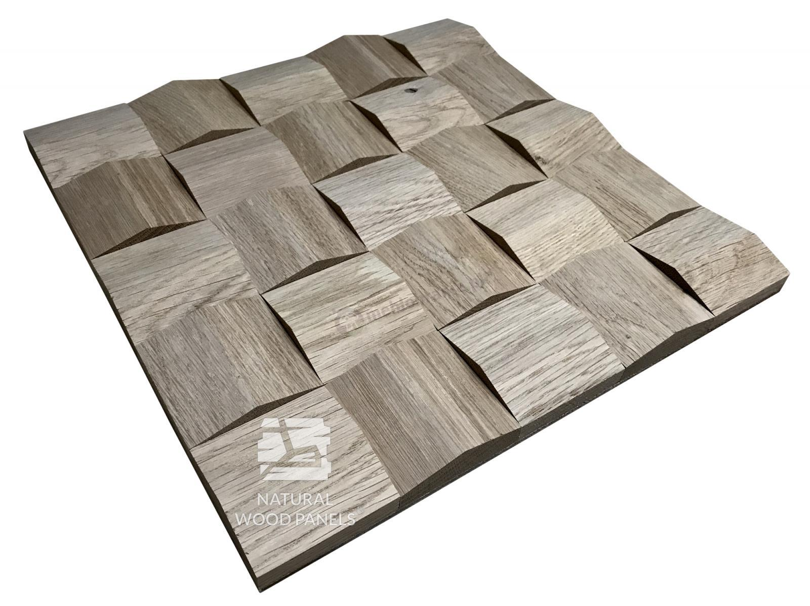 Panele Crystal  series – dąb surowy *080 - Natural Wood Panels