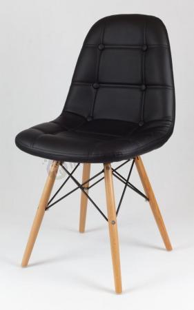 Krzesło konferencyjne czarne KS008