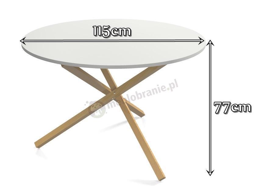 Stół jadalniany triple - wymiary