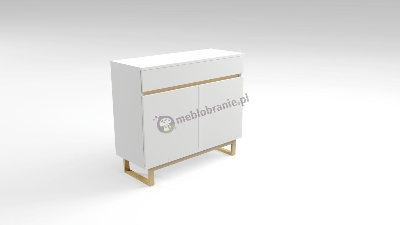 Komoda skandynawska z szufladami biała Deskom 31