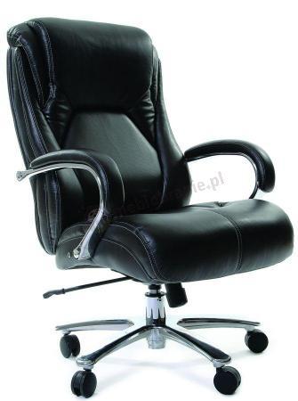 Fotel biurowy ergonomiczny skórzany Chairman 402