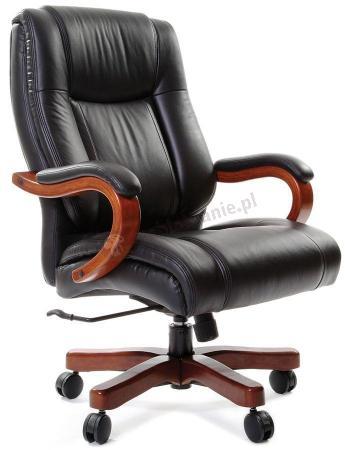 Fotel skórzany dla prezesa obrotowy Chairman 403