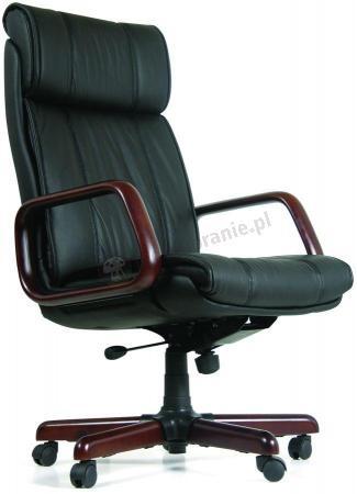 Krzesło gabinetowe obrotowe z zagłówkiem Chairman 419