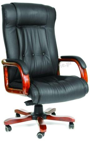 Fotel dla prezesa skórzany obrotowy Chairman 653