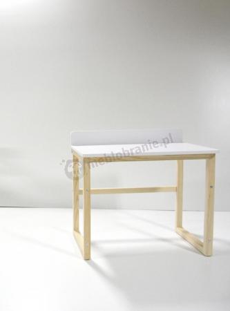 Regulowane biurko dla dzieci w stylu skandynawskim Des-6 Flip
