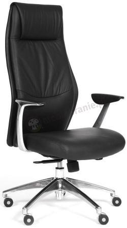 Luksusowy fotel biurowy z ekoskóry Chairman Vista Eco