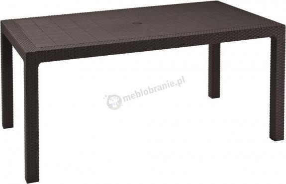 Wyprzedaż - Stół ogrodowy Melody 160x95cm brązowy