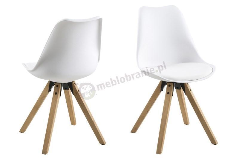 Actona Dima białe krzesła