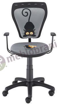 Fotel Ministyle Black Cartoons Line GTP TS22 Kot i Mysz