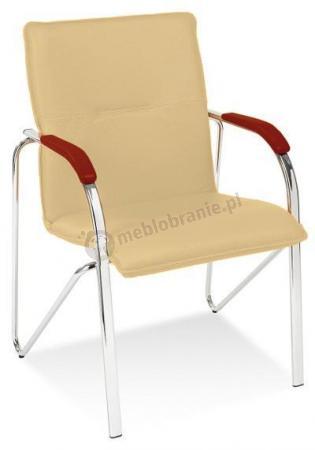 Krzesło konferencyjne Samba Koniak Chrom